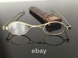19th Case Silver Binoculars 19th C Massive Silver Silver Eyeglasses
