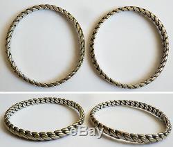 2 Former Bracelet Solid Silver Silver Bracelet 57 Ethnic Gr
