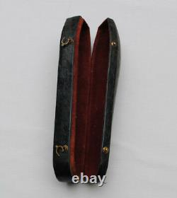 Ancien 18th Cuir For 6 Cuilles Or 6 Mass Fourchets