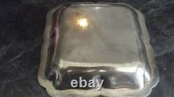 Ancien Plat Creux Carre In Massif Argent Xixe 1st Title Objects Xixe Cuisine