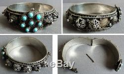 Ancient Ethnic Colonial Silver Bracelet Silver