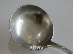 Ancient Ladle Ladles Massive Silver Sterling Silver Punch Minerve Silverware XIX