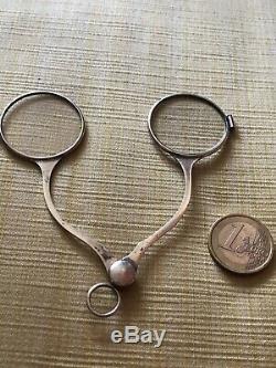 Ancient Scissors Scissors Amazing Man Optics Lorgnon Lorgnette Sterling Silver