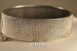 Ancient Silver Bracelet Massive Ancient Gold Solid Silver Bangle