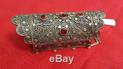Antique Silver Belt Buckle North Africa Ref26519