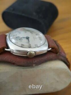 Beautiful And Former Omega Military Argent Massif For Man