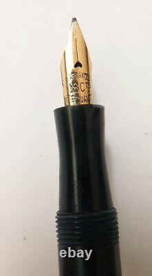 Beautiful Massive Argent Pen - Ancient Gold Feather Bakélite Circa 1930