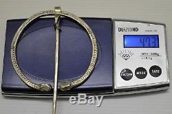 Beautiful Silver Fibula Xixth Berber Kabyle Art Ethnic Jewel Old Jewelery