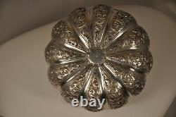 Box Coffret Ancien Argent Massif Indochina Antique Silver Indian Chinese Box