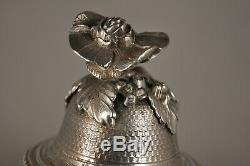 Carafe Coffee Maker Old Antique Sterling Silver Coffee Pot MB Harleux 777 Gr