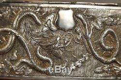Case A Spyglass Old Sterling Silver Antique Chinese Silver Opera Glasses Case