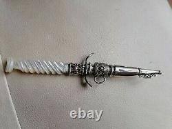 Curiosa Dagger Under Erotic Brothel Prostitute Romantic Old Knife