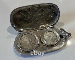 Door Louis Old Art Nouveau Solid Silver