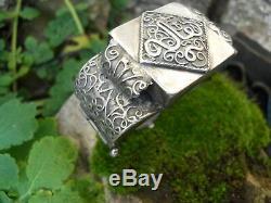 Former Bracelet In Sterling Silver Or Berber Kabyle Jewelery Collection