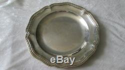 Former Dish / Plate Sterling Silver Silver Model Minerva Net 700 Gr