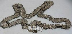 Former Ethnic Necklace In Silver
