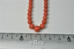 Former Natural Coral Necklace