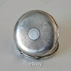 Former Omega Aldas 1922 Silver Watch