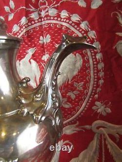 Former Sharpener Pourer Solid Silver Poincon Minerve 19th St LXV Rockery