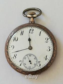 Former Swiss Watch Fob In Silver