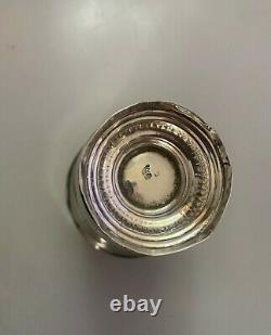 Former Timbale Footouche In Solid Silver Gold Minerve Sixte Simon Rion