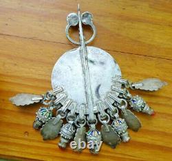 Grosse Fibula Former 174gr Silver Berbere Tunis Khabyl Morocco Beni Yenni