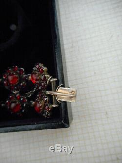 In Old Bracelet Regional Garnets Silver On De Boheme