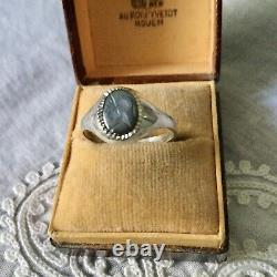 Intail Centurion Ancienne Chevalière Ring In Silver Massif, Superb