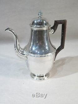 Lagriffoul Laval & Ancient Jug Coffee Maker Sterling Silver Louis XVI