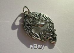 Large Pendant Former Alcyon 8.7 G Sterling Silver French Sterling Silver Charm