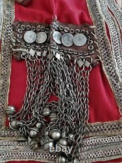 Niqab Ancient 1950s Yemen Saudi Arabia Ethnic Jewel Currencies