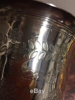 Old Big Foot Timbale Sterling Silver Height 13.50 CM