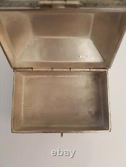 Old Box Sterling Silver Filigree Box Silver Filigree