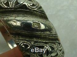 Old Bracelet Maroc-debouou-middle Atlas Punch Au Belier 315gr