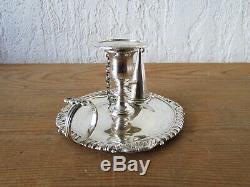 Old Candle In Hand Full English Silver 1812 Georgian Era