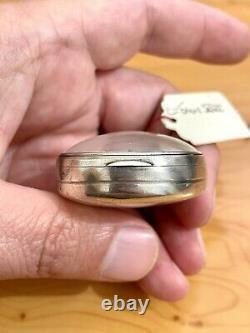 Old Coq Watch In Silver Massif Pocket Watch Silver