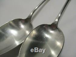 Old Covered In Table In Sterling Silver Spoons 5 6 Forks Punches