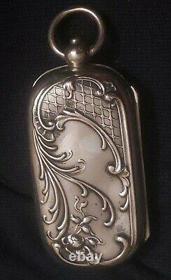 Old Door Louis Golden Double Sterling Silver New Art