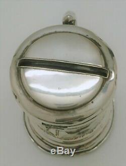 Old Money Box Stein Sterling Silver Decor Cherub Renaissance 18th Century Ème