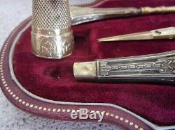 Old Necessary Couture Silver Silver Vermeil / Art Nouveau