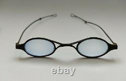Old Pair Of Silver Folding Eyeglasses Debut XIX Eme Lorgnons Silver