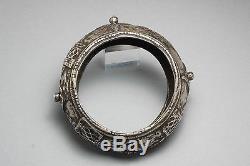 Old Silver Bracelet Presahara Morocco Ethnic Jewelry