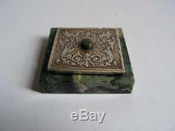 Old Solid Silver Table Bell Famous Goldsmith Maquet Paris Nice