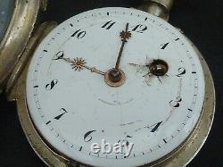 Old Watch To Gosset Or Coq Silver To Restore Or Pies