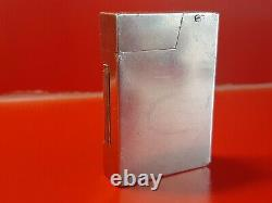 Rare Former Silver Gas Lighter Solid Silver Type Dunhill Prototype Collection