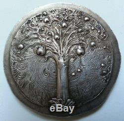 Rare Silver Medal Found Old Signed Ernst Fuchs