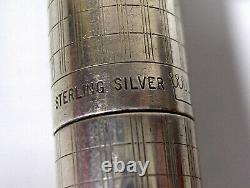 Sheaffer Silver Pen Massive Feather Gold Old Collection
