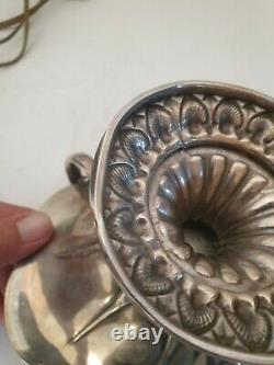 Silver Cut Solid Old Monogrammed Punch