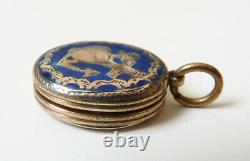 Small Reliquary Pendant In Silver Faith Hope Charity Ancient Reliquary