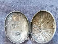 Sterling Silver XVIII Boite A Former Pills Work
